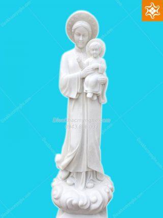 tượng đức mẹ la vang bằng đá