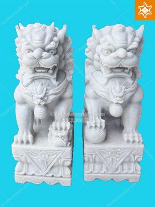 tượng kỳ lân đá